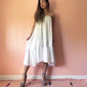 H&M Babydoll Midi Dress